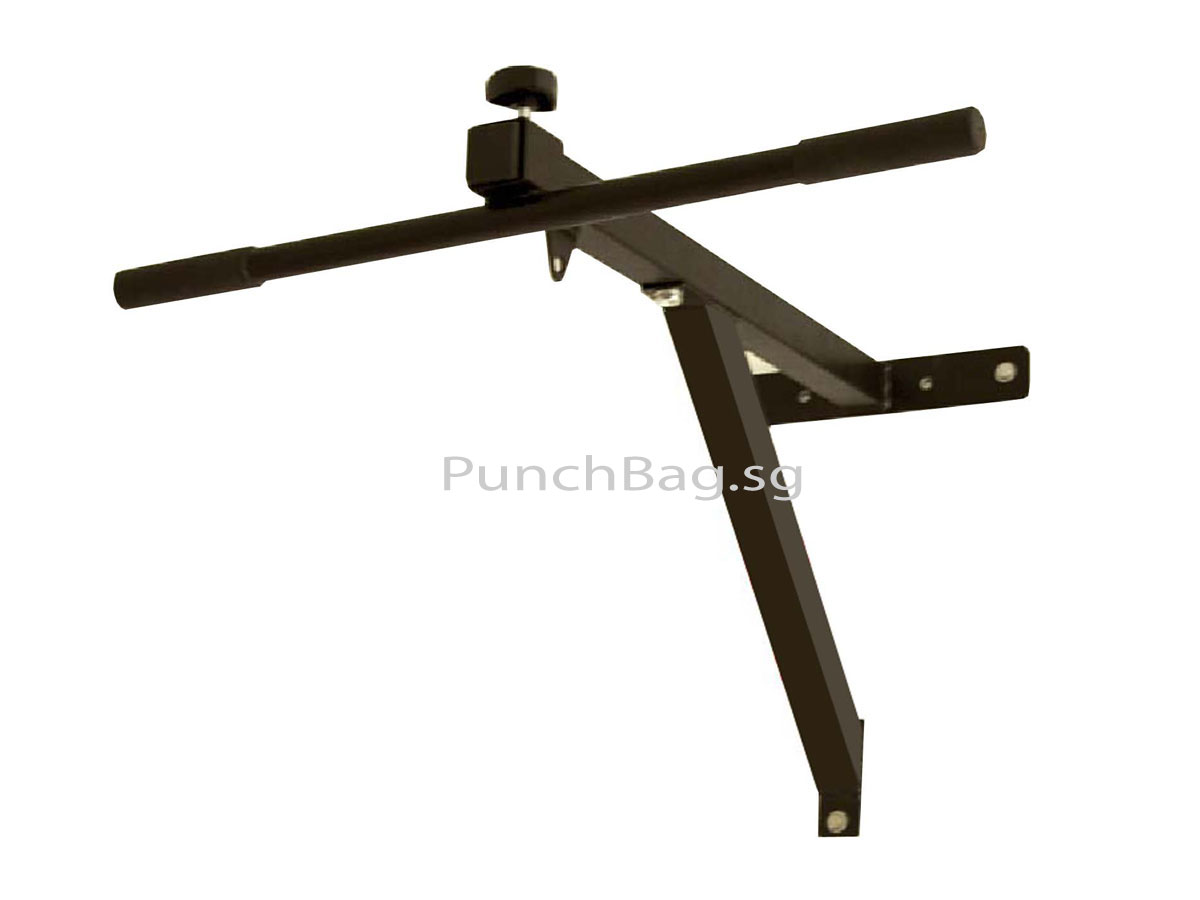 Punch Bag Wall Bracket with Chin Up Bar